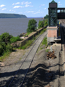 Riverdale Station & Hudson River